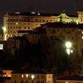 Perugia lato Est di notte